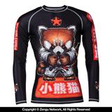 "Tatami and Meerkatsu ""Red Panda"" Children's Grappling Rashguard"